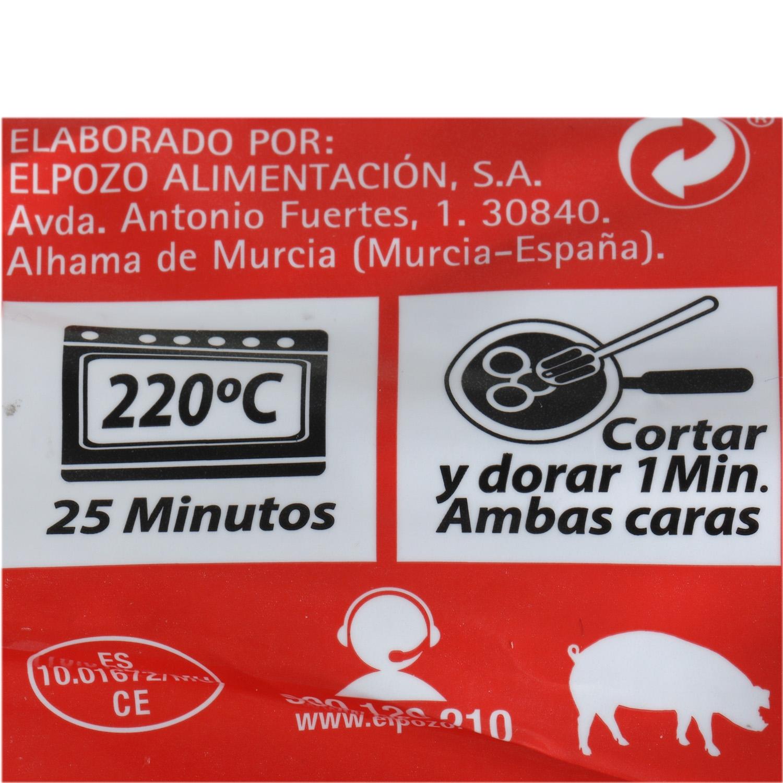 Solomillo de Cerdo Extratierno El Pozo 600 g aprox - 4