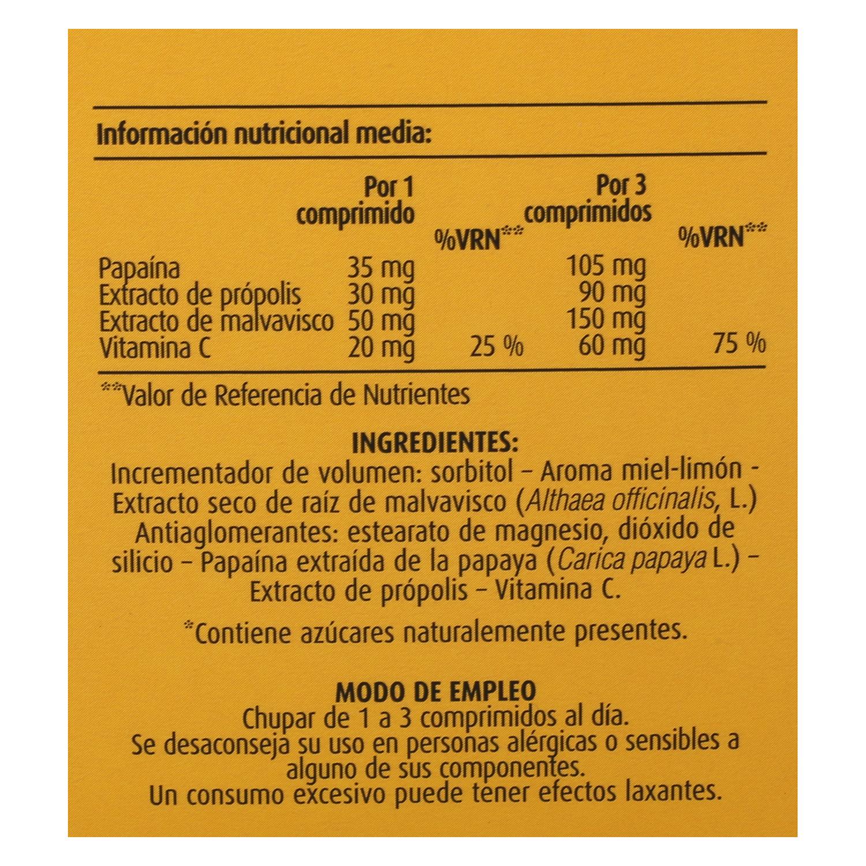 Comprimidos para chupar de própolis -