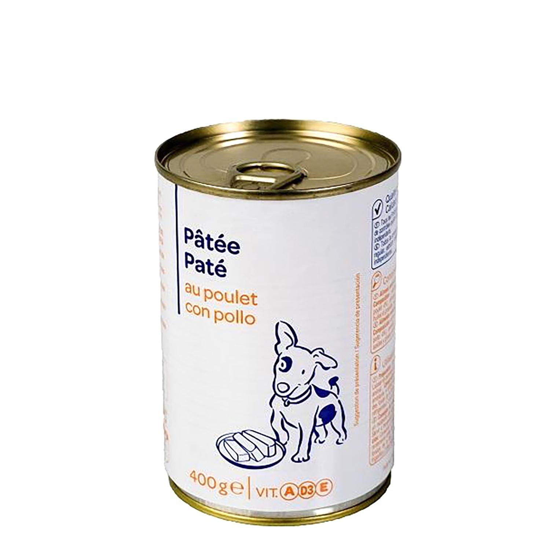 Lata Pate de Pollo para Perro  -