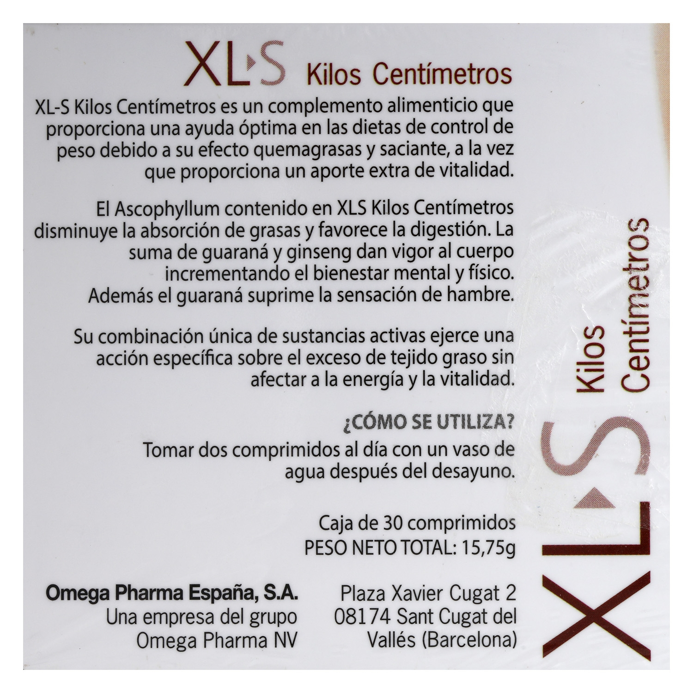 Complemento alimenticio Kilos Centímetros - 3