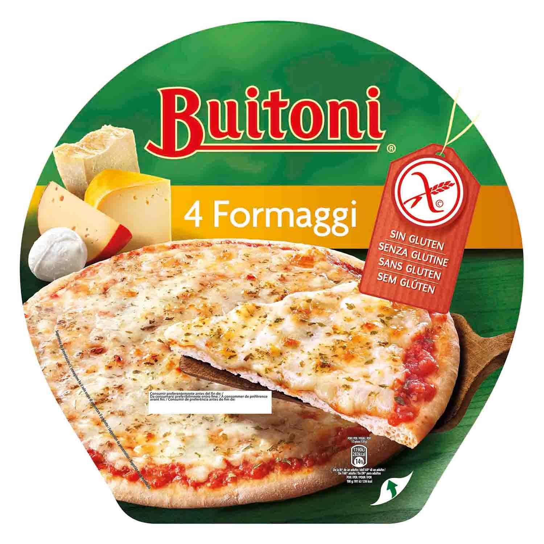 Pizza 4 quesos sin gluten Buitoni - Carrefour supermercado compra online