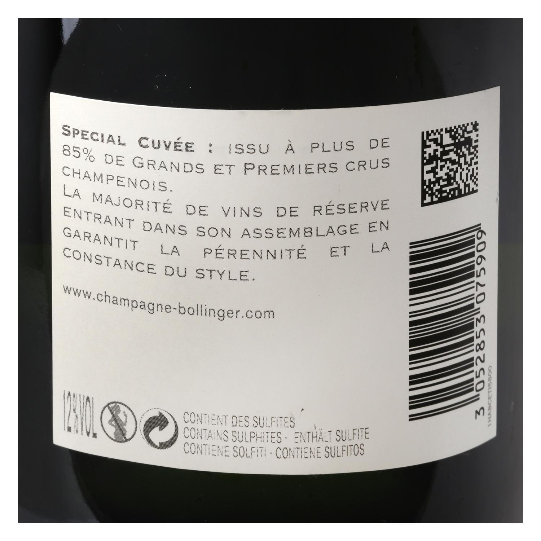 Champagne Bollinger special cuvée brut 75 cl. -