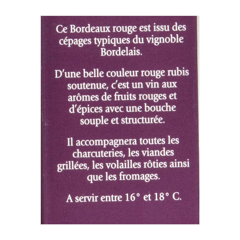 Bag in box de vino tinto francés Bordeaux 3 l. - 3