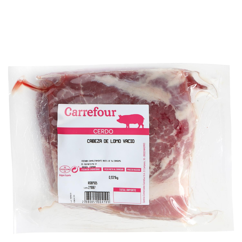 Cabeza Lomo de Cerdo Carrefour al Vacío 1 kg aprox - 2