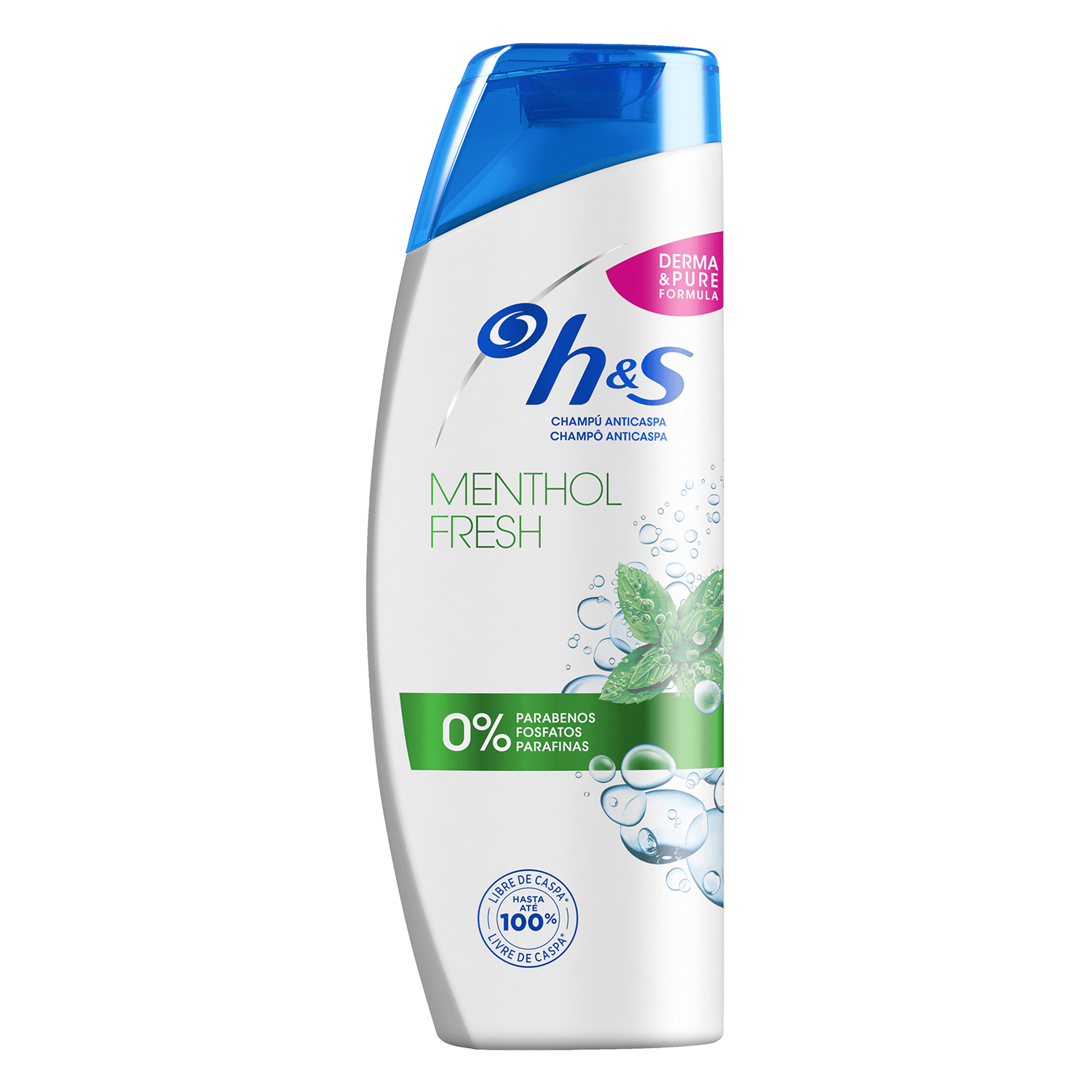 Champú anticaspa Menthol Fresh H&S 360 ml.