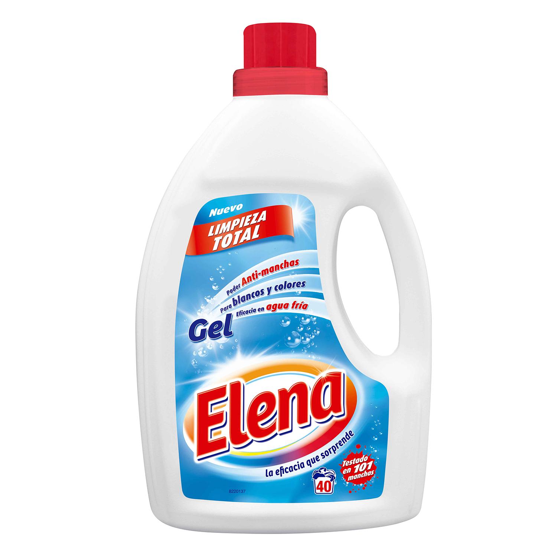Detergente líquido Elena 40 lavados.