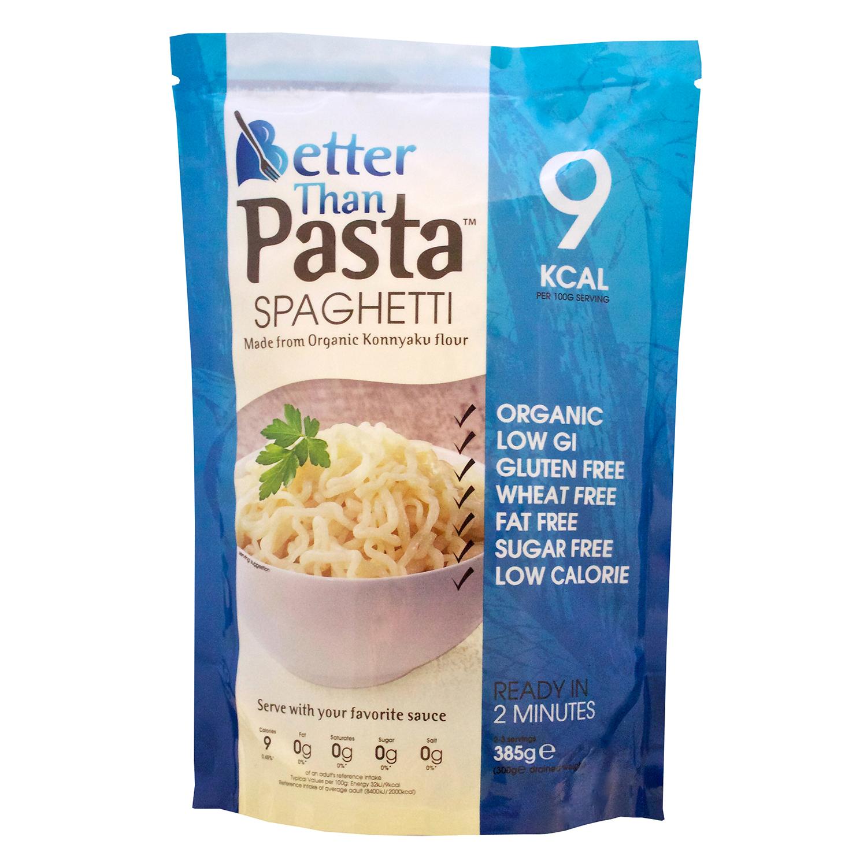 Espaguetis ecológicos Better Than sin gluten 385 g.
