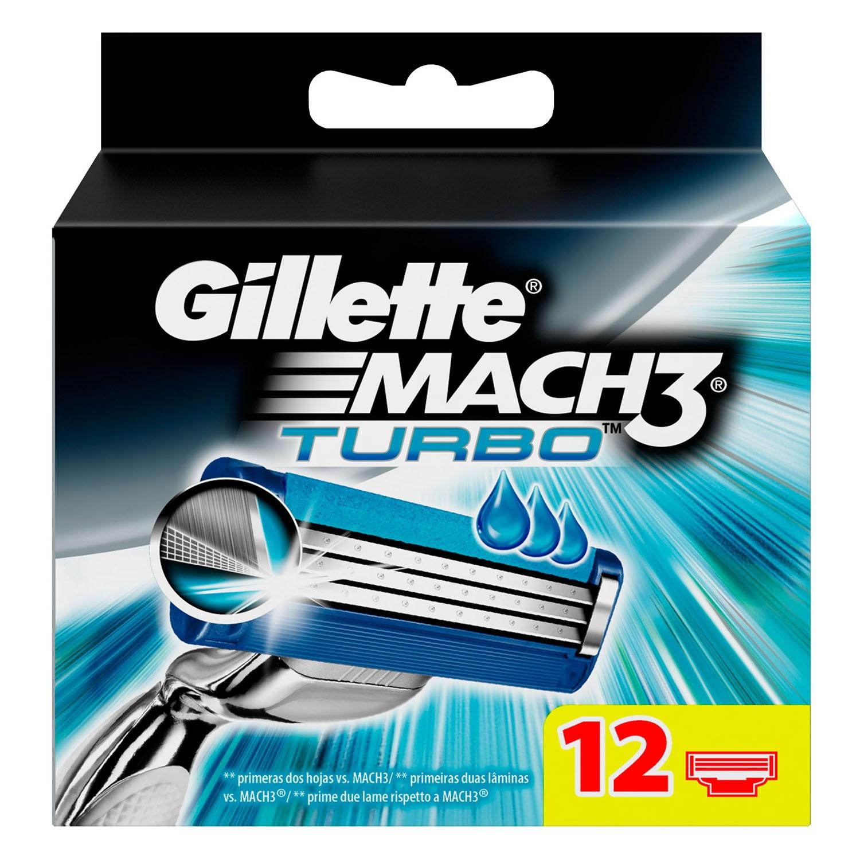 Cargador para afeitar turbo Gillette Mach3 12 ud. Gillette Mach3 ... 29eb0688c410
