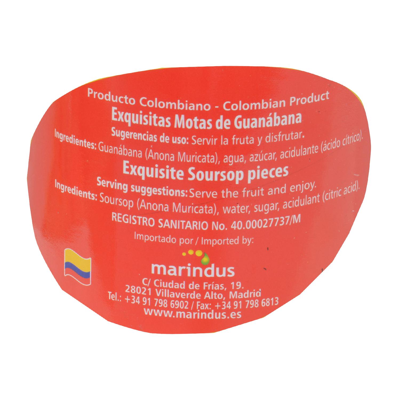 Motas de Guanábana - 2