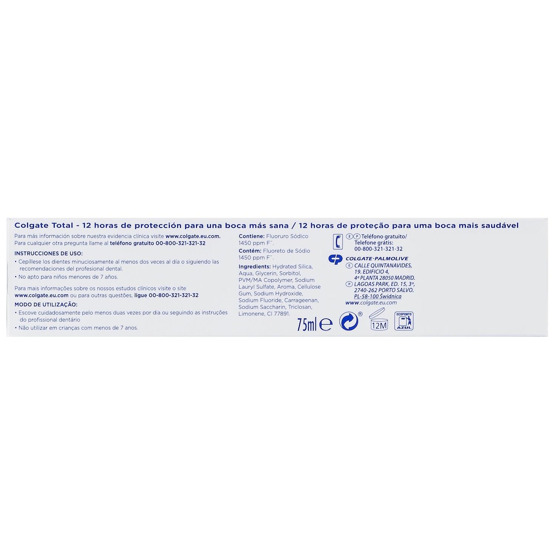 Pasta dentífrica Total Acción en Profundidad - 2
