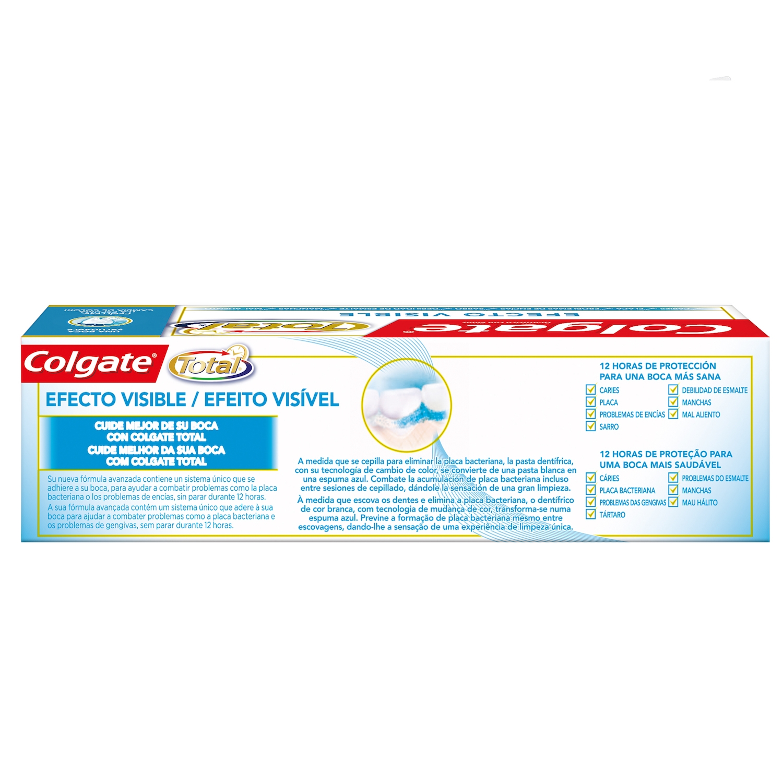 Dentrífico Total Efecto Visible Colgate 75 ml. -