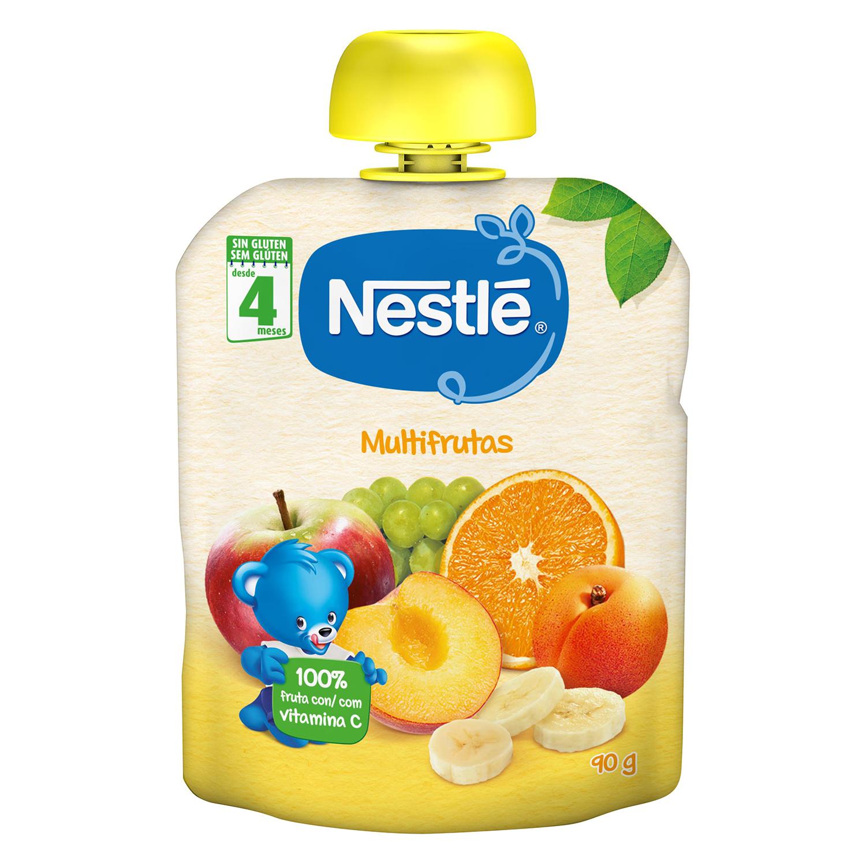 Multifrutas en bolsita Nestlé 90 g.
