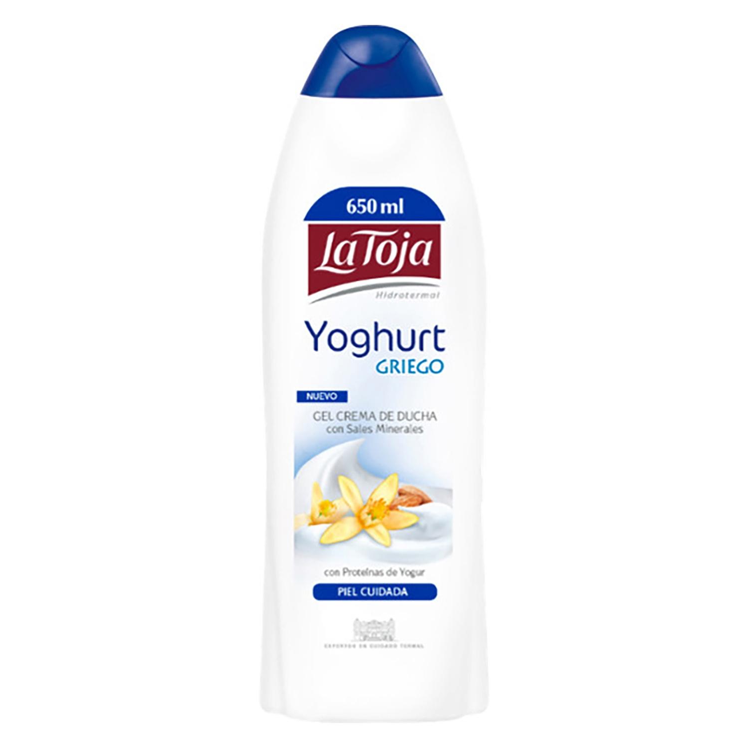 Gel crema de ducha yoghurt griego la toja carrefour for Duchas para piscinas carrefour