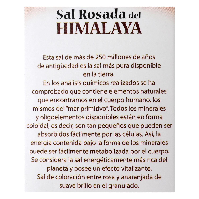 Sal rosa del himalaya fina Roca 500 g. -