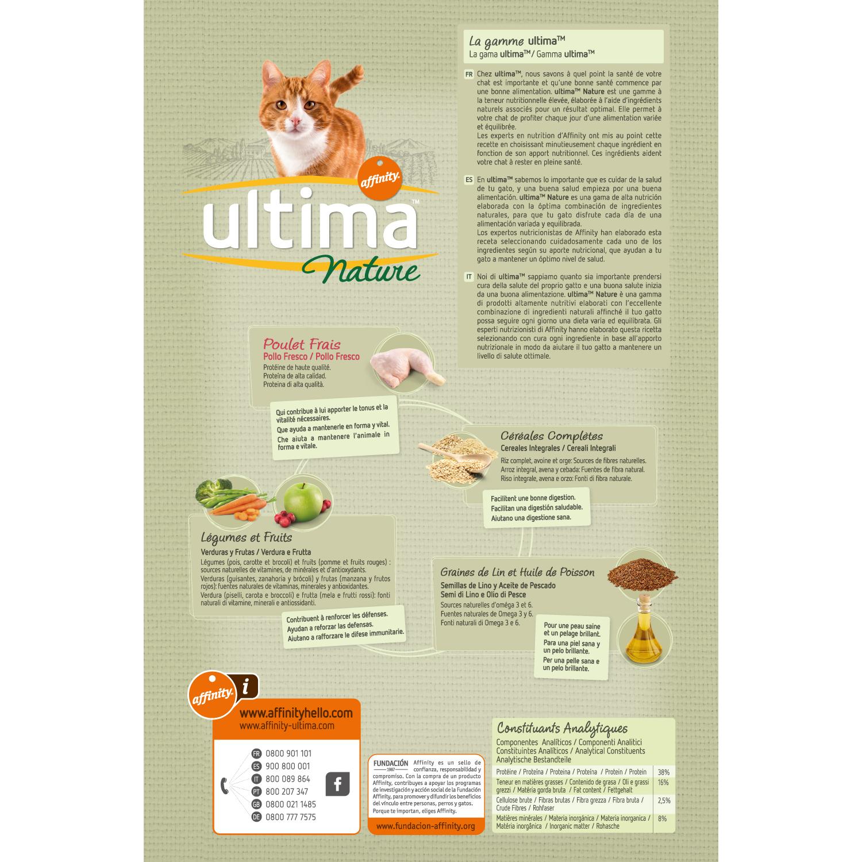 Alimento Gato Seco Nature Adulto Pollo - 2