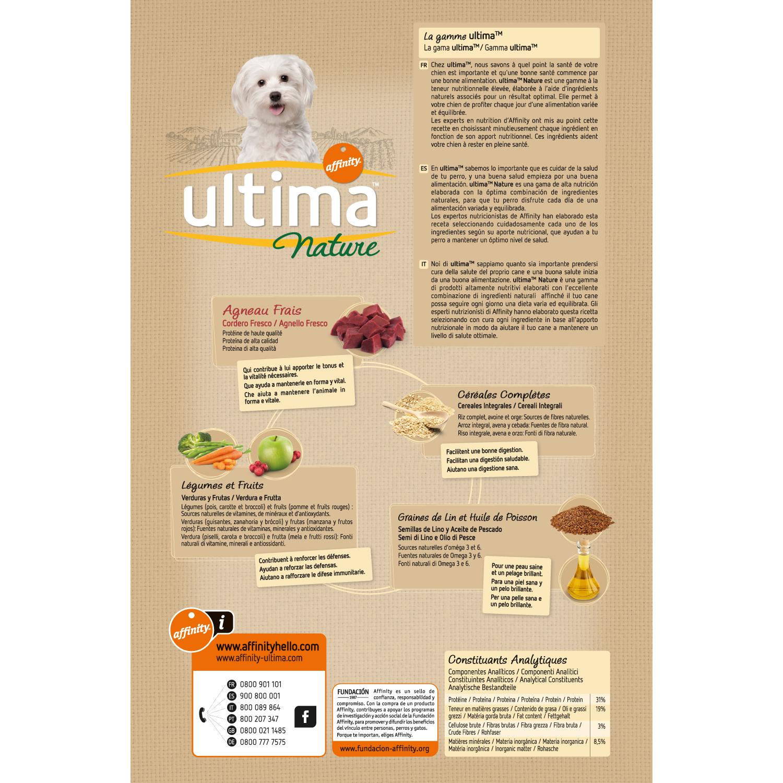 Alimento Perro Seco Nature Mini Adulto Cordero - 2