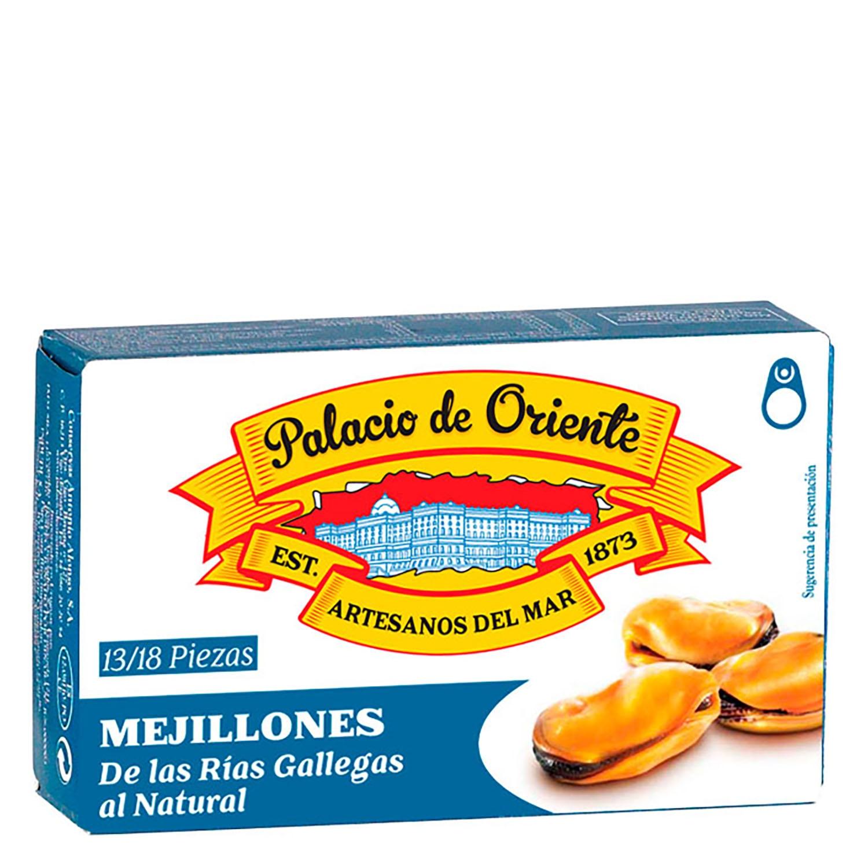 Mejillones de las rías gallegas al natural