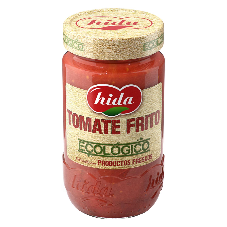 Tomate frito ecológico Hida tarro 350 g.