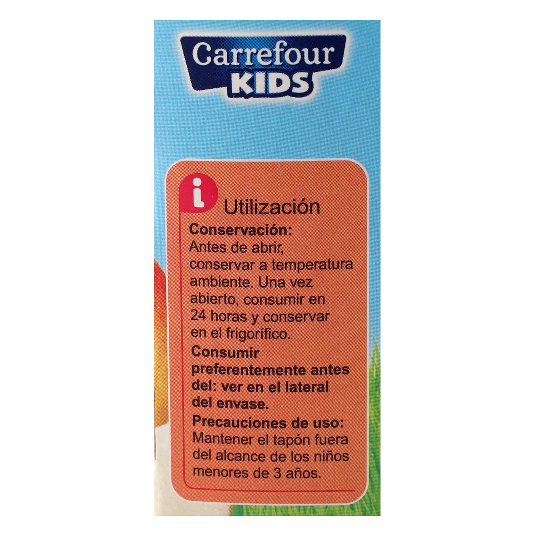 Compota de manzana y fresa Carrefour Kids pack de 4 bolsitas de 90 g. - 2