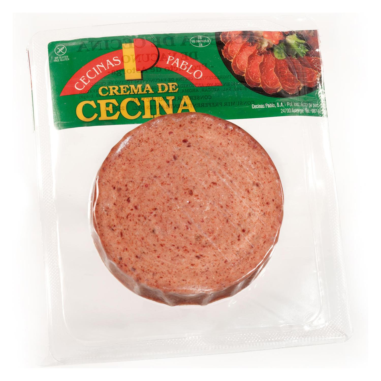 Crema de cecina Cecinas Pablo sin gluten 80 g.