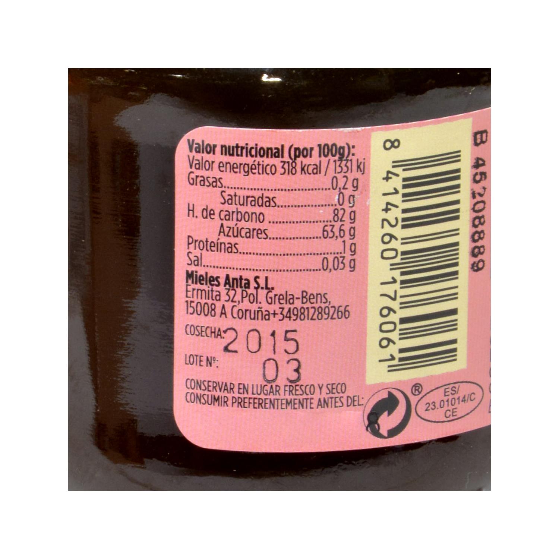 Miel con propoleo ecológico -