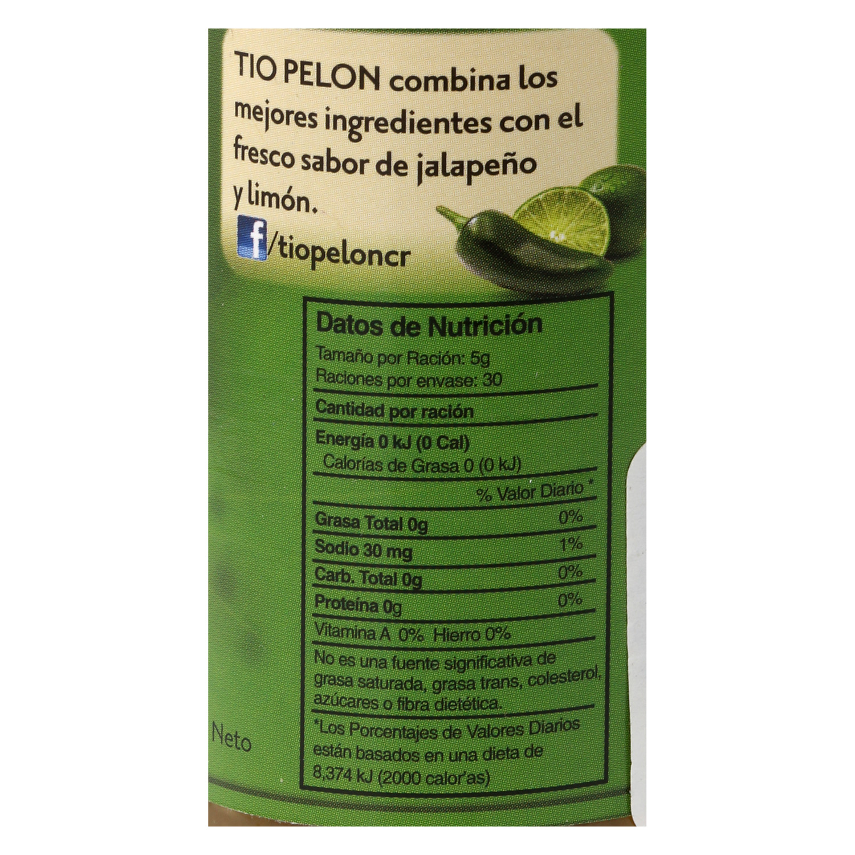 Salsa chilero jalapeño limón - 2