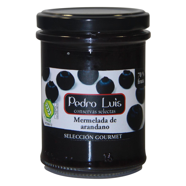 Mermelada de arándano Pedro Luis sin gluten 220 g.