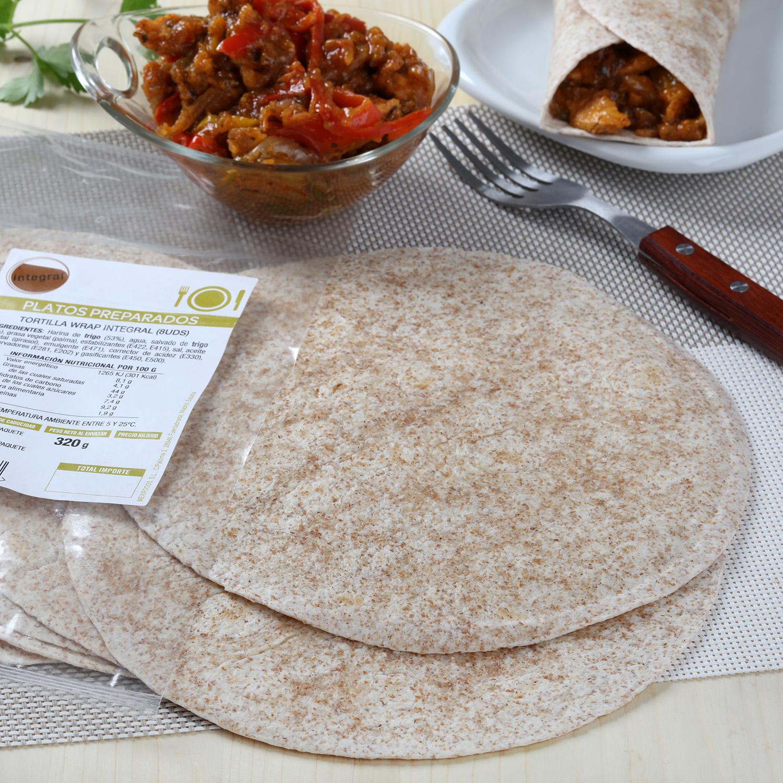 Tortilla iwrap integral