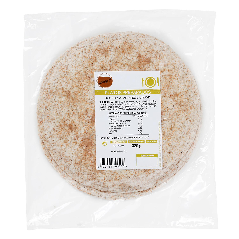 Tortilla iwrap integral Mexifoods 300 g -