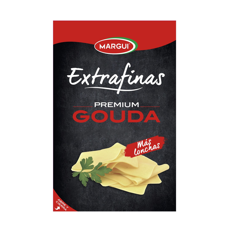 Queso gouda en lonchas Margui 150 g.