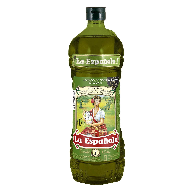 Aceite de oliva La Española intenso 1º 1 l.