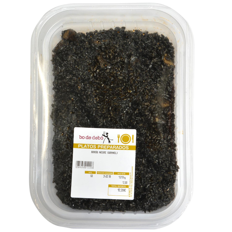 Arroz negro granell Bo de Debó1 kg aprox