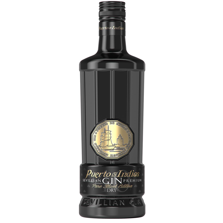 Ginebra Puerto de Indias premium pure black edition 70 cl.
