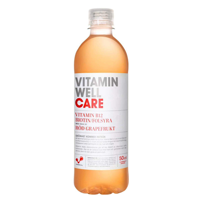 Bebida Isotónica Vitamin Well Care botella 50 cl.