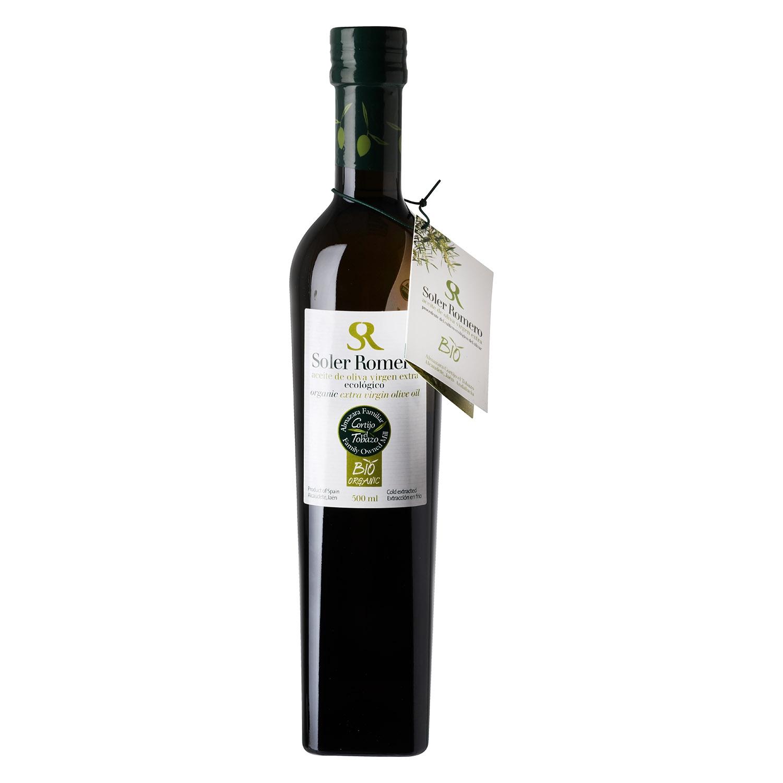 Aceite de oliva virgen extra ecológico Soler Romero 500 ml.
