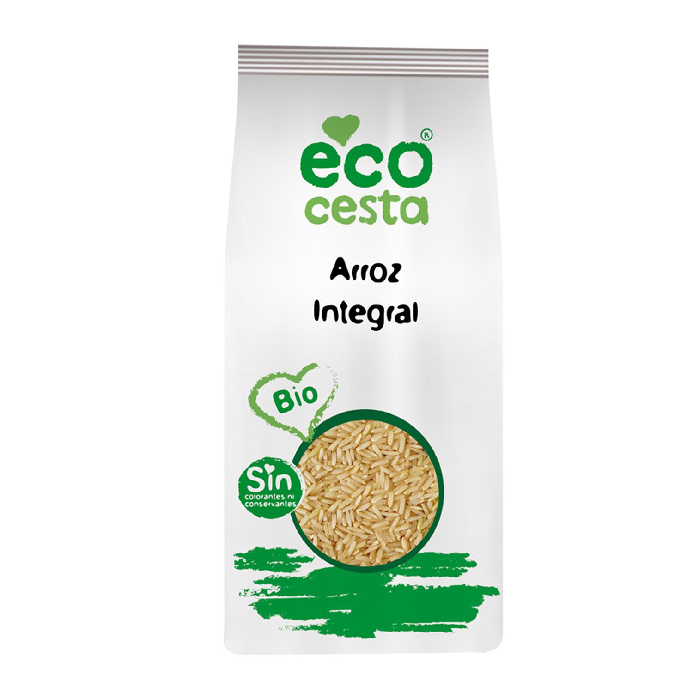 Arroz integral ecológico Ecocesta 1 kg.