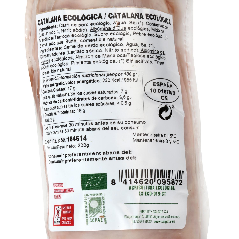 Catalana ecológica eco - 2