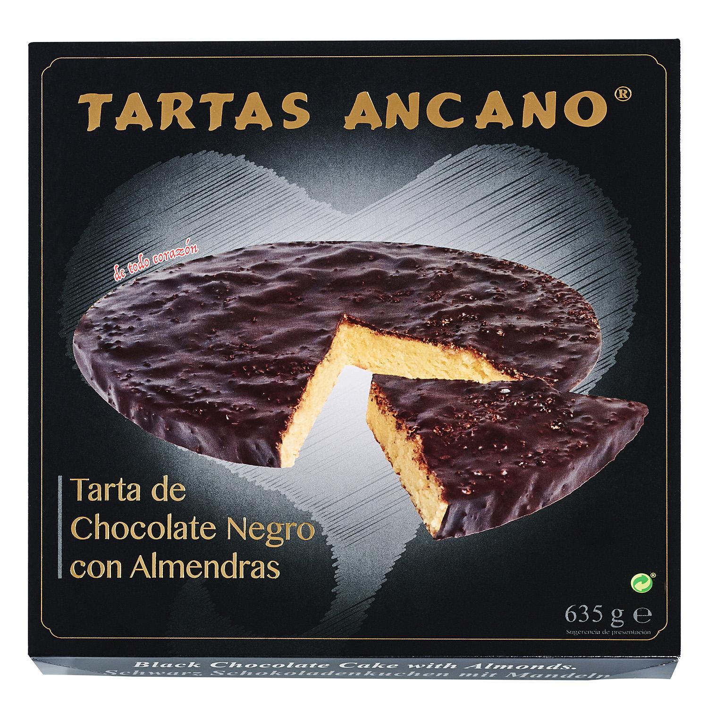 Tarta santiago de chocolate