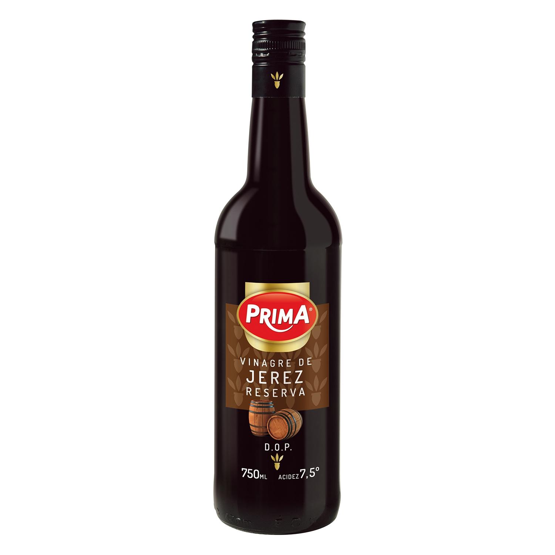 Vinagre de Jerez reserva Prima 750 ml.