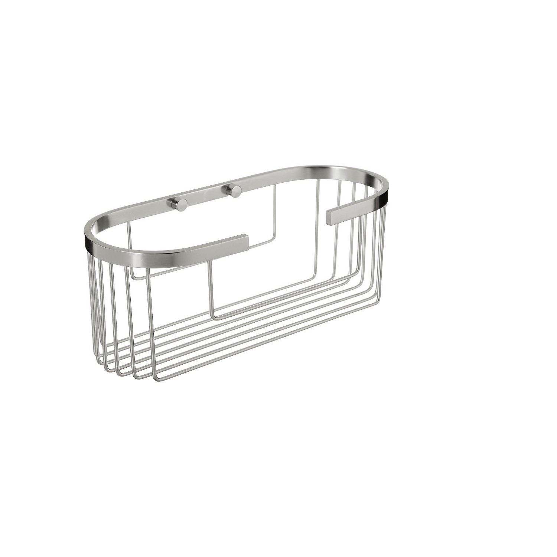 Cestillo de baño  de  Aluminio Tatay  11,5cm - Metalizado
