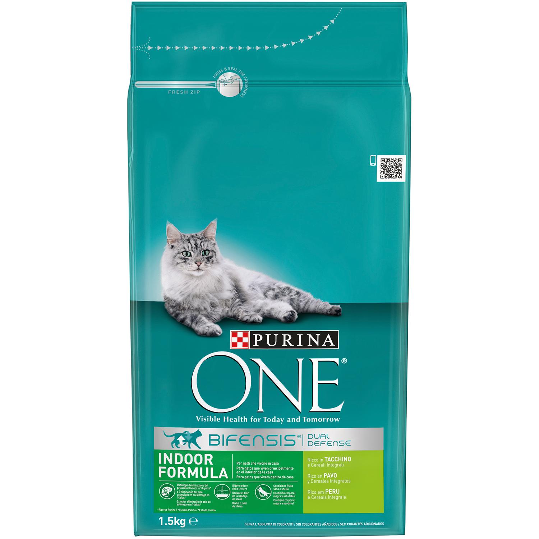 Comida para gatos Interior con Pavo