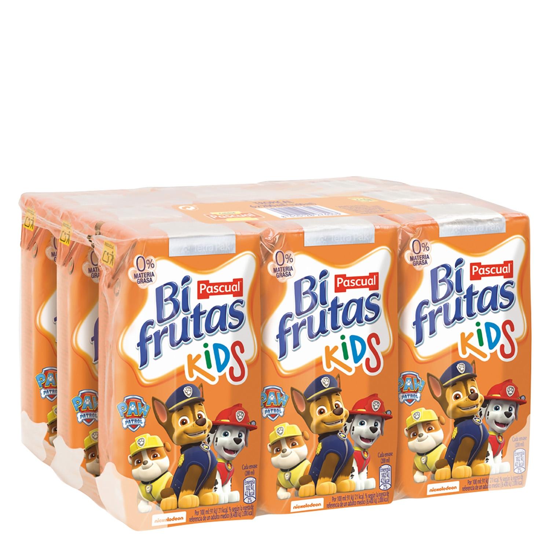 Zumo Bifturas Kids pack de 9 briks de 20 cl.