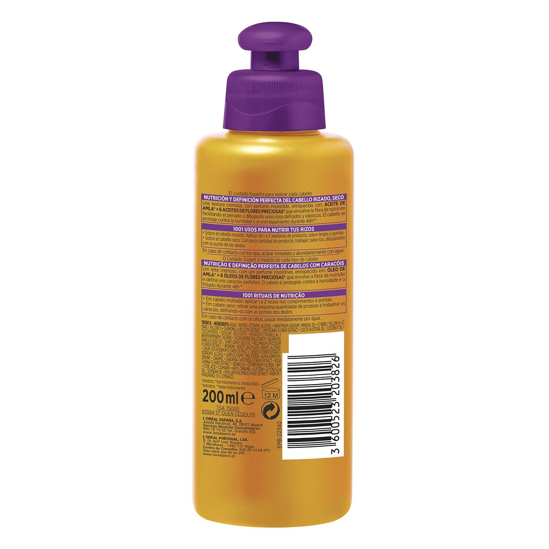 Crema de peinado rizos aceite extraordinario L'Oréal Elvive 200 ml. -