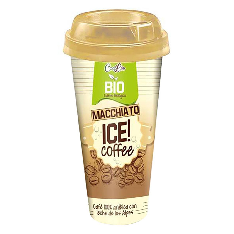 Café macchiato ecológico Coolife 230 ml.