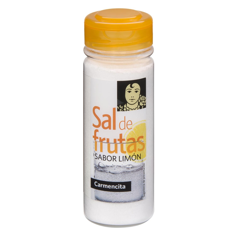 Sal de frutas Carmencita sabor limón 175 g.