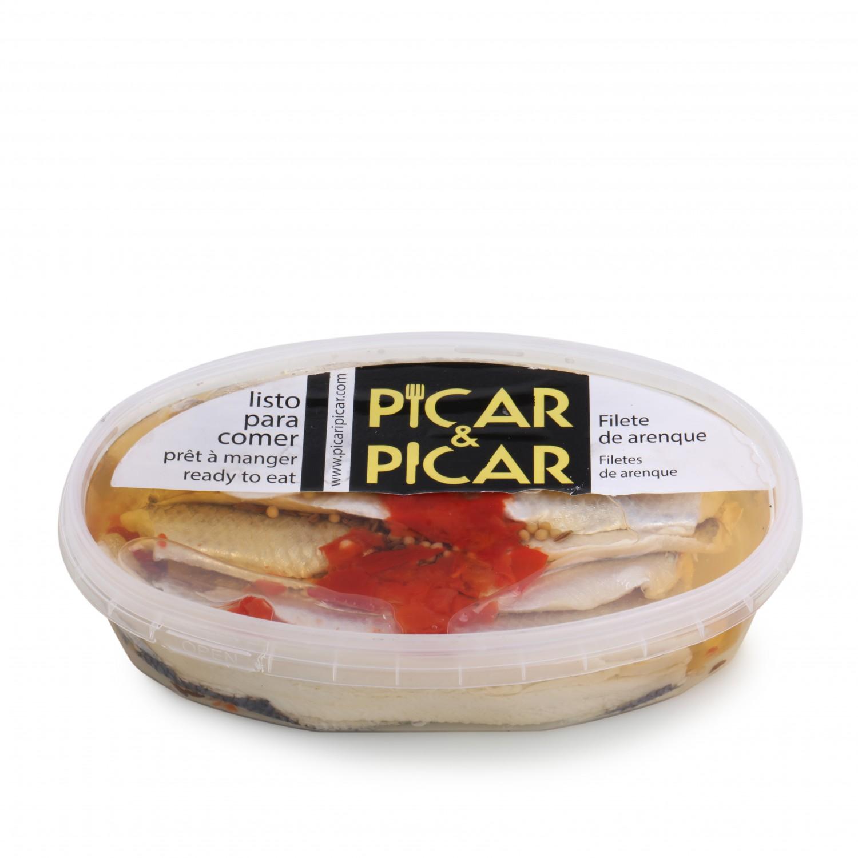Filetes arenque natural  Carrefour 220 g