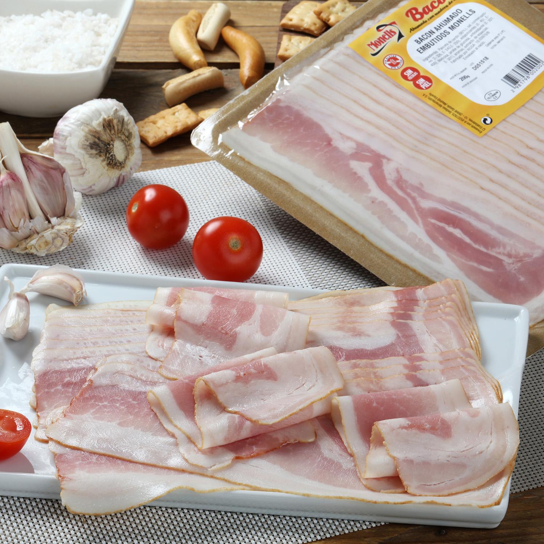 Bacon ahumado natural -