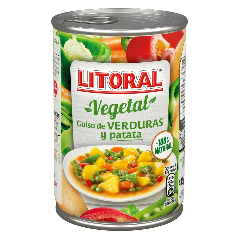 Guiso de verduras y patata