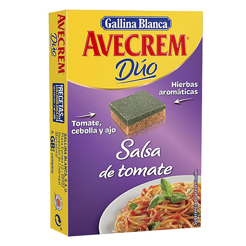 Pastilla de salsa de tomate y ajo Dúo