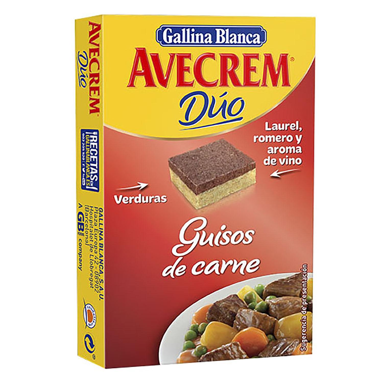 Caldo guisos de carne Dúo en pastillas Avecrem 8 ud.